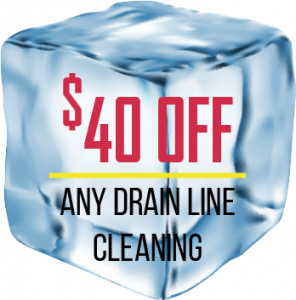 $40 OFF: Any Drain Line Cleanining