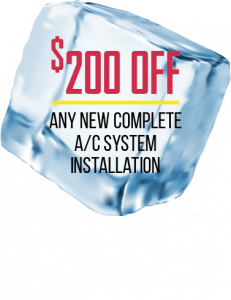 $200 OFF: New Complete AC System Instatllation